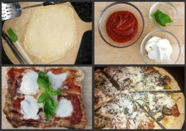 Meatless Monday-Pizza Night