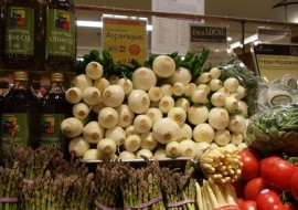 Spring Onions for Meatless Monday