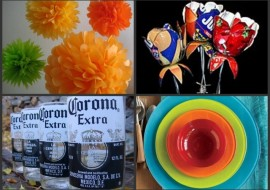 Festive Cinco de Mayo Recycled Tablescape