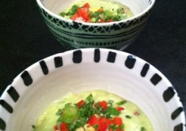 Meatless Monday-Light Refreshing Avocado Soup