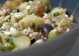 Meatless Monday High Protein Salad