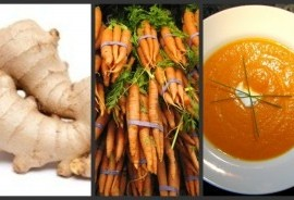 Meatless Monday-Carrot Ginger Soup