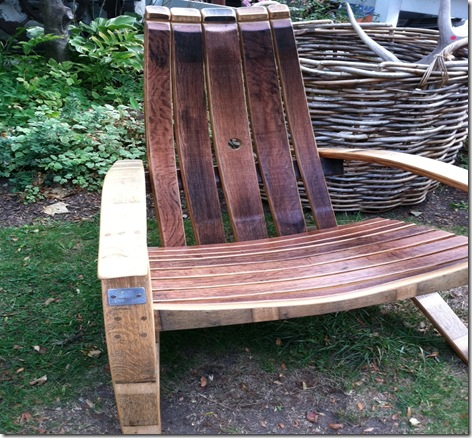 weekend winebarrel chair
