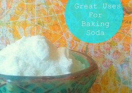 10 Green Uses for Baking Soda