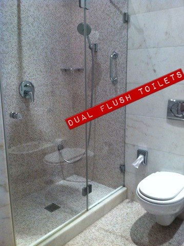 xitaly label dual flush