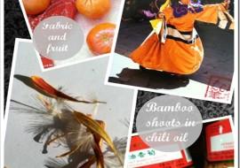 Tangerine Tango Visits a Mood Board