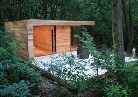 Eco Friendly Garden Rooms-A Space to Get Away From it All
