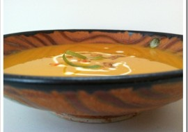 Curried Carrot Soup for Meatless Monday