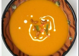 Meatless Monday-Curried Carrot Soup