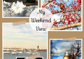 5 Reasons to Love My Weekend View-No.9