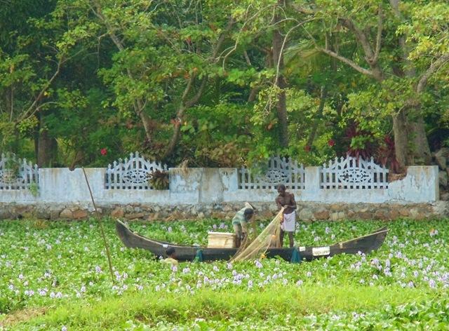 Traditional boat in Kerala