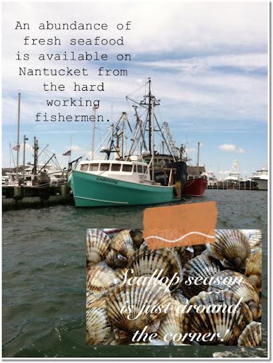 Fishing boat in Nantucket harbor