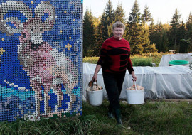 Plastic Bottle Caps and One Industrious Russian Pensioner