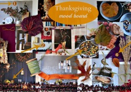 Mood Board Thanksgiving Style