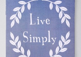 A Thought for Thursday-Live Simply