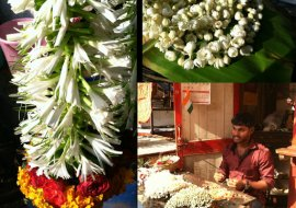 The Dadar Flower Market Mumbai