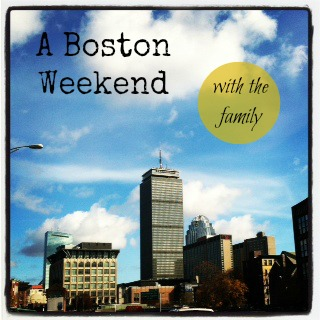 Boston Travel -Guest Post for Don't Mess With Mama - Green With