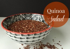 Quinoa Salad Recipe for Meatless Monday
