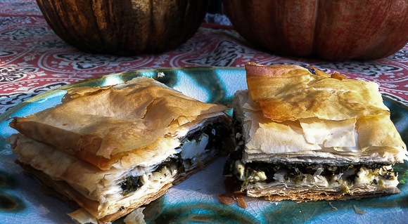 Spanakopita flavors of Greece