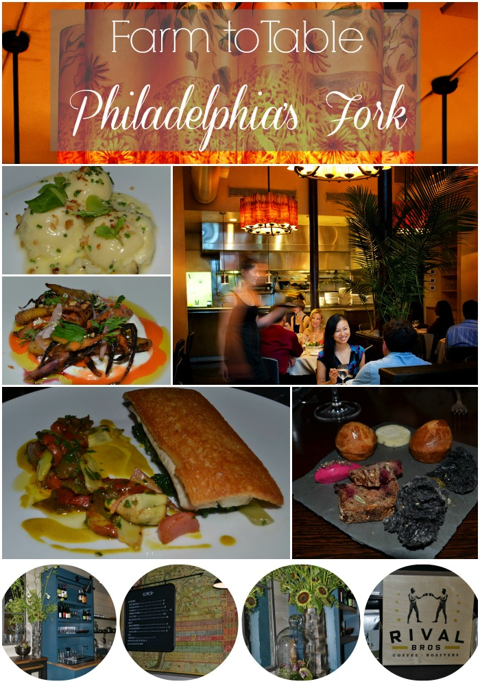 Farm to table Goodness at Philadelphia's Fork Restaurant