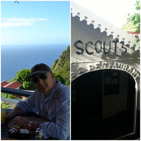 Saba restaurant Caribbean Scottys
