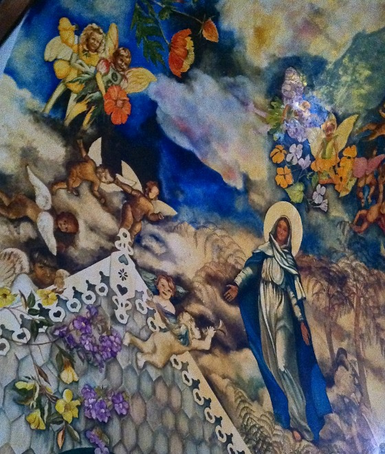 saba church mural Heleen