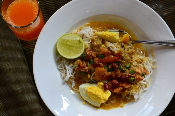 Flavorful Soup Mohingha in Myanmar