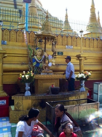 Shwemadaw Pagoda Bago Burma, Myanmar