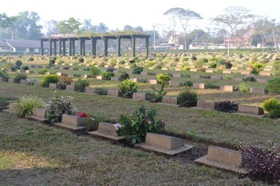 Htaukkyan War Cemetery Burma Yangon Myanmar