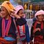 sham burma women traditional dress
