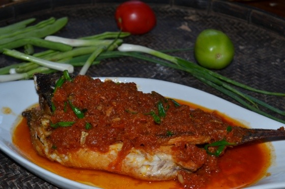 Myanmar fish curry meatless monday