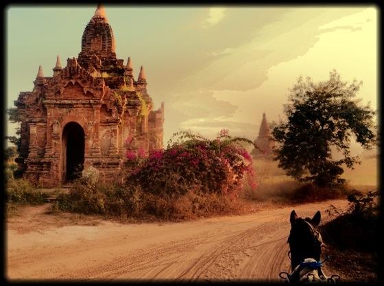Bagan temple pagoda