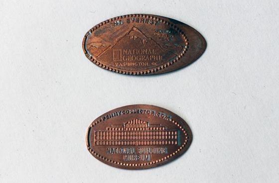 Squished Pennies Jenni Fuchs Museum 140