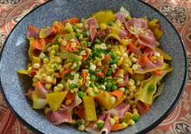 Confetti Pasta Meatless Monday