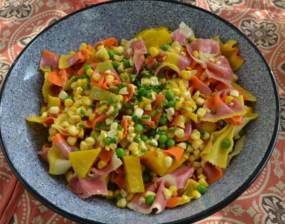 meatless monday confetti pasta