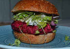 Beet Burgers for Meatless Monday
