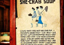 She Crab Soup from Charleston