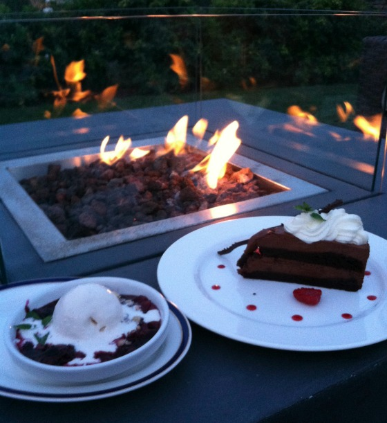 dessert fire pit nantucket