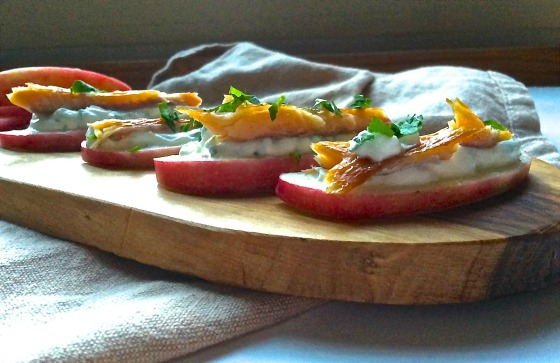 smoked trout appetizer