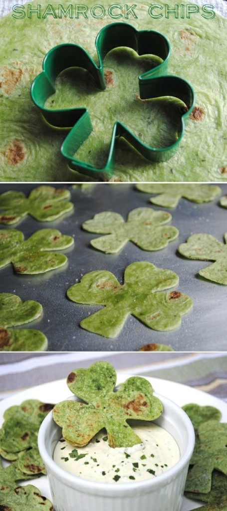 Green Shamrocks for St. Patricks Day