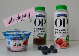 Stonyfield Introduces Greek Chia and OP