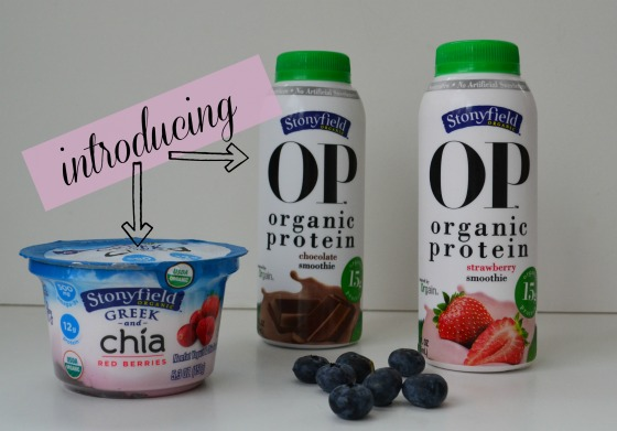 stony field's new protein packed yogurts