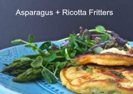 Seasonal Vegetables Asparagus Fritters