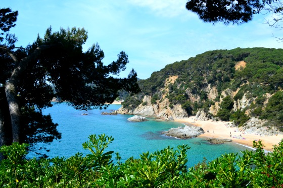 The coastline in Costa Brava