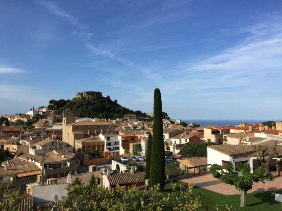 the city of Begur in Costa Brava