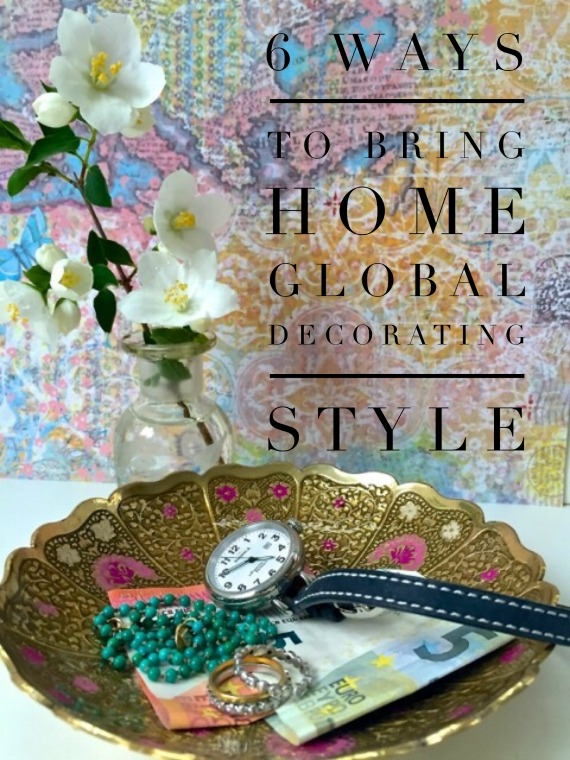 Bringing home a global decorating style