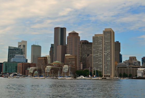 Boston's waterfront.