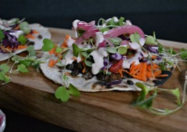 Farm Fresh Veggie Tacos and Lentils
