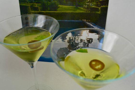 Aragosta's Cilantro Sting Cocktail recipe.