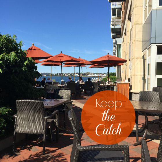 Harbourfront restaurant Aragosta in Boston